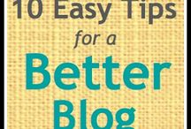 Blogging / Tips for blogging