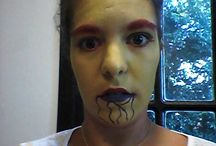 Face and body Paint by me