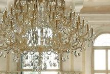 Light up my Life / Ooh, shiny bright & sparkly: chandeliers and lighting