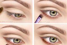 Makeup ohjeita / Tutoriaaleja ja käteviä niksejä