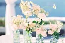 Flower Centerpieces / Flower centerpieces for your bridal shower, wedding, or any event.