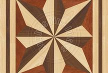Rectangle Hardwood Floor Inlay / Imagine one of these inlays in your hardwood floor.  Where would you put it?   / by The Hardwood Floor Medallion Store