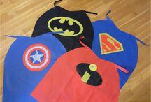 Capes de Super Héros sans couture DIY