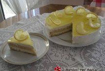 τούρτα με κρέμα λεμονιού