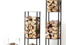 Firewood stand