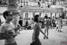 Modica, Ragusa • Engagement Photo Session / Real time with Ignazio & Nicoletta