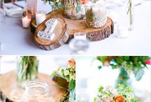 Chrissy wedding ideas  / Centerpieces
