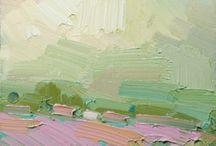 ☼ Painterly landscape