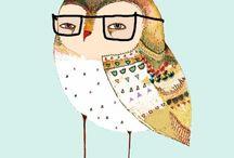 Must <3 owls / by Victoria Gaccione