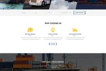 EXPRESS-Professional Logistics PSD Template / Sunrisetheme now proudly offers EXPRESS – a Free PSD template intended for cargo, logistics, trucking, transportation companies, warehouse and freight business. This stunning design with 15 PSD files, 4 homepages,7 sample pages, 1170 Grid system and Perfect Pixel,etc are certain to cover all core features for visitor attractions.