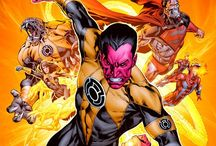 Official Art: Sinestro Corps