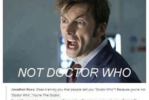 Doctor Who / Trust me, I'm the doctor