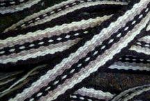 Weaving, mostly warp-faced / by Elizabeth Thomas