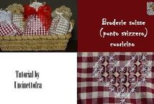 Broderie Suisse / Video-tutorial su questa tecnica di ricamo