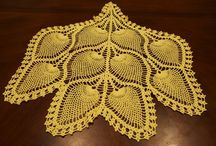 Needle Crafts - Home Accesories / Crochet doilies and chair backs