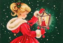 Vintage Christmas / Vintage inspired Christmas and Holiday cards and pictures