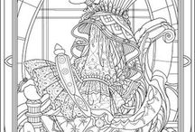 COLORING PAGES / by lamawa1201