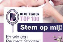 STEM op Room for Beauty via www.beautysalontop100.nl / Beauty Salon Top 100