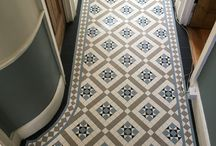 Floor tiles for porches