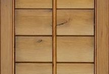Hardwoods Available for Shutters / Pictorial of different wood types readily available