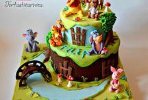 Winnie Pooh cakes