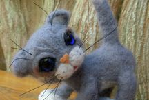 Felted toys