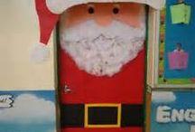 Christmas Door Dec