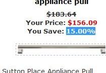 Appliance Pulls