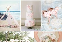Light Pink and Baby Blue Wedding Ideas / Our Perfect Wedding :)