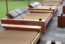 tumbonas de teca / Diseño, producción y fabricación exclusiva y ecológica por www.comprarenbali.com