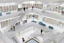 beautiful library in Germany