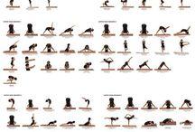 Hatha yoga chart