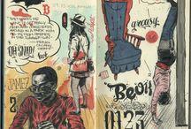 Inspirational Sketchbooks and Journals