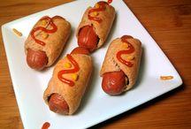 cachorro quente em forno