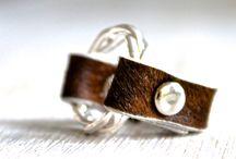 Cowhide Rings