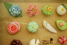 artな和菓子❁ / japanese sweets