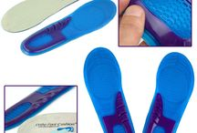 Foot Cushion / High Quality New Orthotic Arch Support Massaging Gel Silicon Insoles Ortho