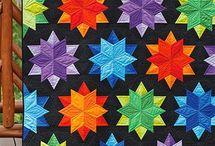 patchwork - hvězdy
