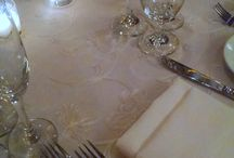 Hotel du Village Grand Opening / Gala Cloths dressed the Grand Opening of the Hotel du Village event venue in New Hope, PA, delighted to be named Preferred Vendor for table linens and chair decor!
