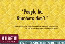 Overheard at New Boston / Never a dull moment at NBCG...