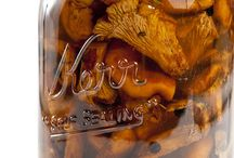 chantrelle mushroom recipes preserving