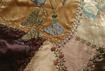 Crazy quilts and inspirations