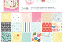 Scrapbook Releases 2014 / CHA releases, mid releases, other releases (CHA is only once a year now, in January) / by Stephanie Russell