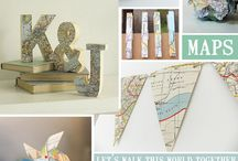 Travel wedding theme