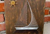 String Art-chiodo e filo