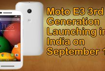 Moto E3 3rd Generation Launching in India on September 19