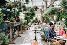 Cool restaurants & (coffee) bars / by 30s Magazine