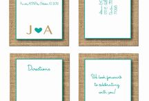 Wedding Invitation DIY / Nice, classic and particular way to announce your wedding. DIY.