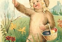 Vintage Easter cards / by Valerie Edwards