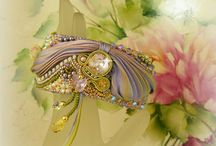 """Shibori """"jewelry"""""""